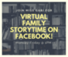 Copy of Virtual Storytime on Facebook! (