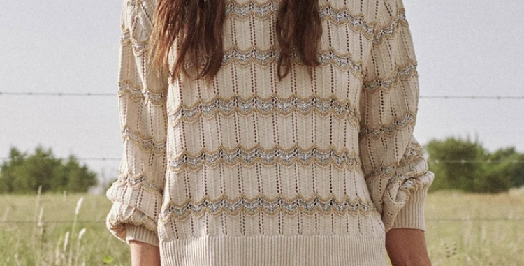 The Great Zig Zag Sweater