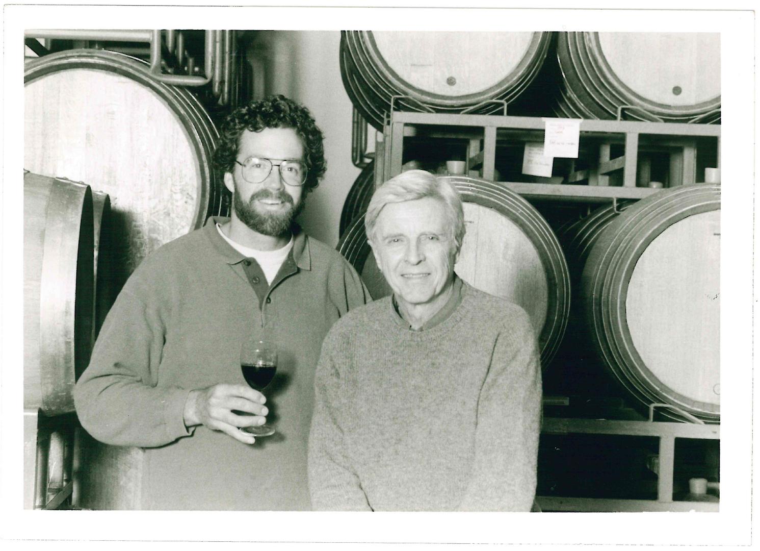 Winemaker, Bruce McGuire & Owner, Pierre Lafond