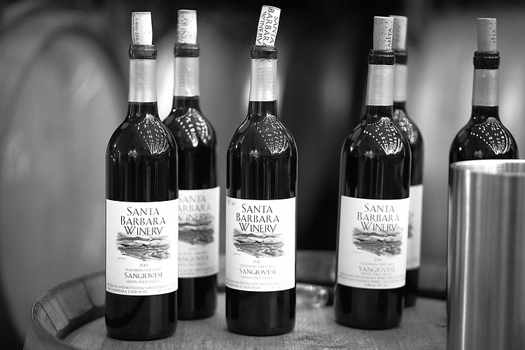 Santa Barbara Winery features at least 25 different varietals