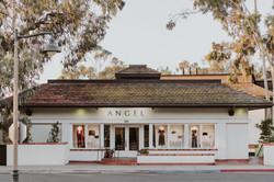 Angel on Coast Village Road