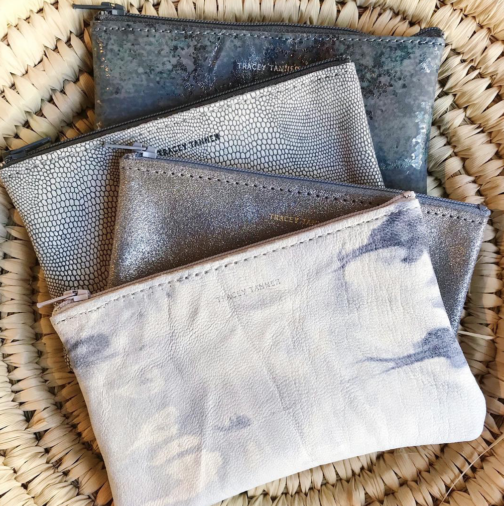 Tracy Tanner Leather Pouches
