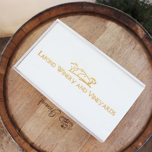 Double Branded Wooden Box