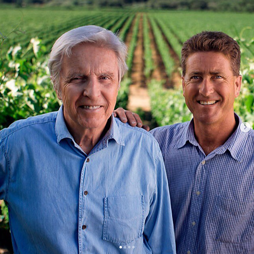 Family owned & operated: Pierre Lafond with son, David Lafond - Vineyard Manager