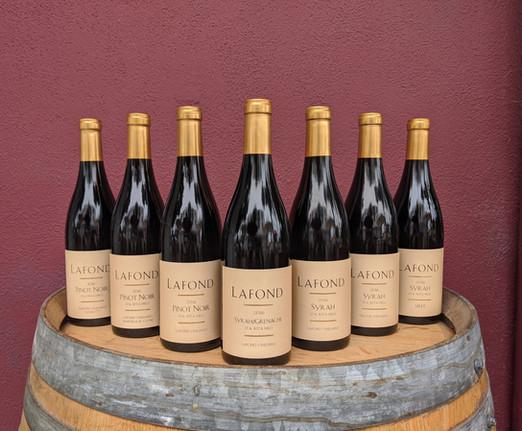 Lafond Winery Estate Label