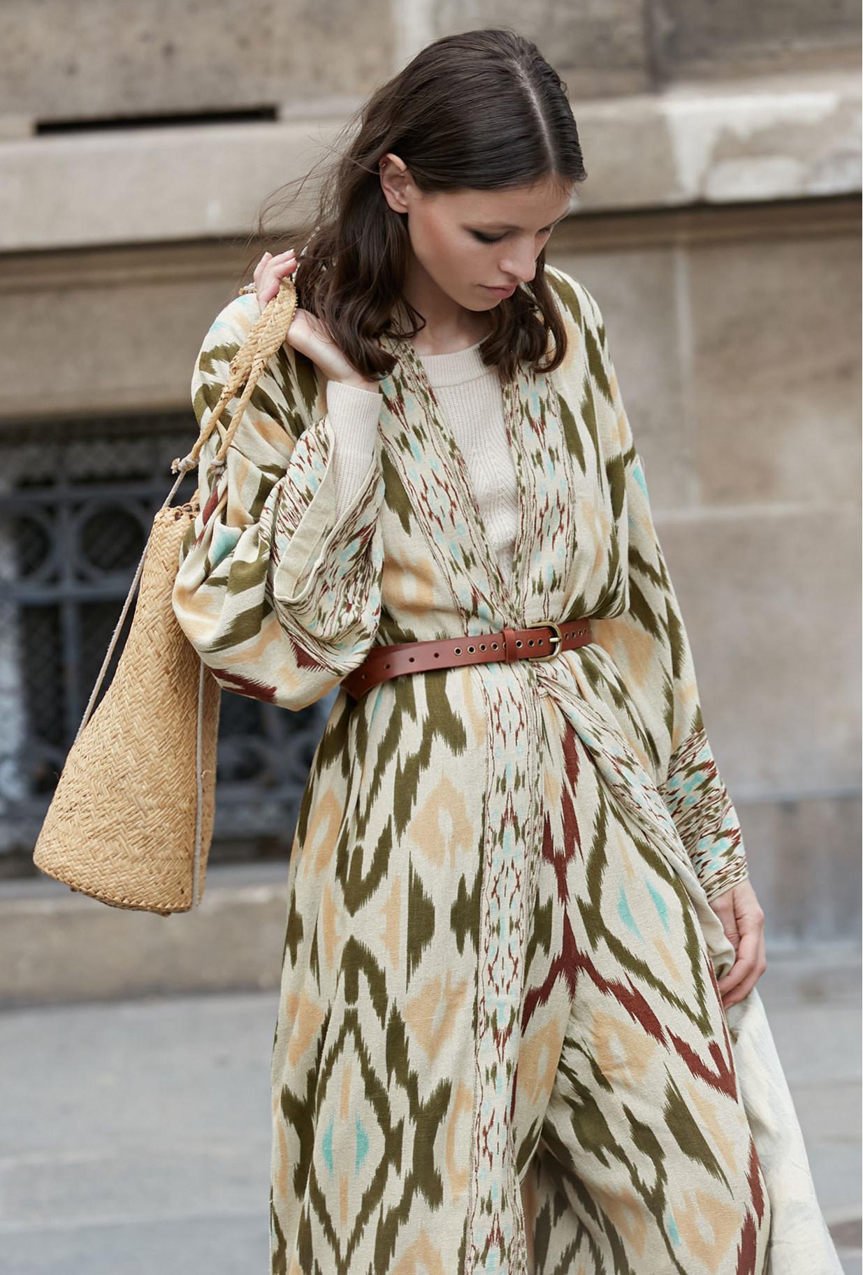 MesDemoiselles Silk Kimono