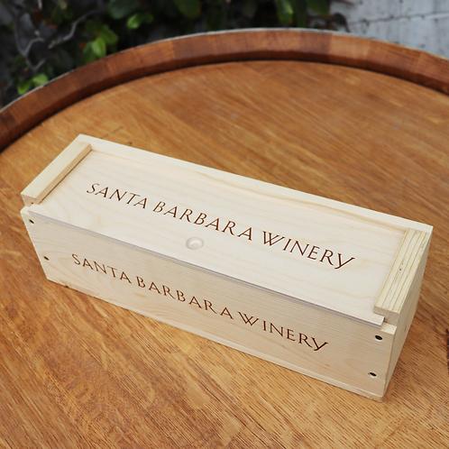 Single Branded Wooden Box