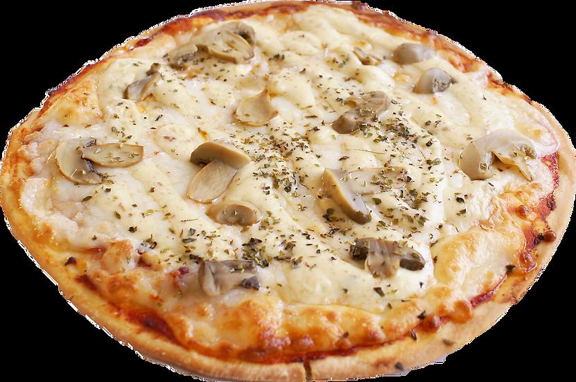 Pizza de salsa Carbonara