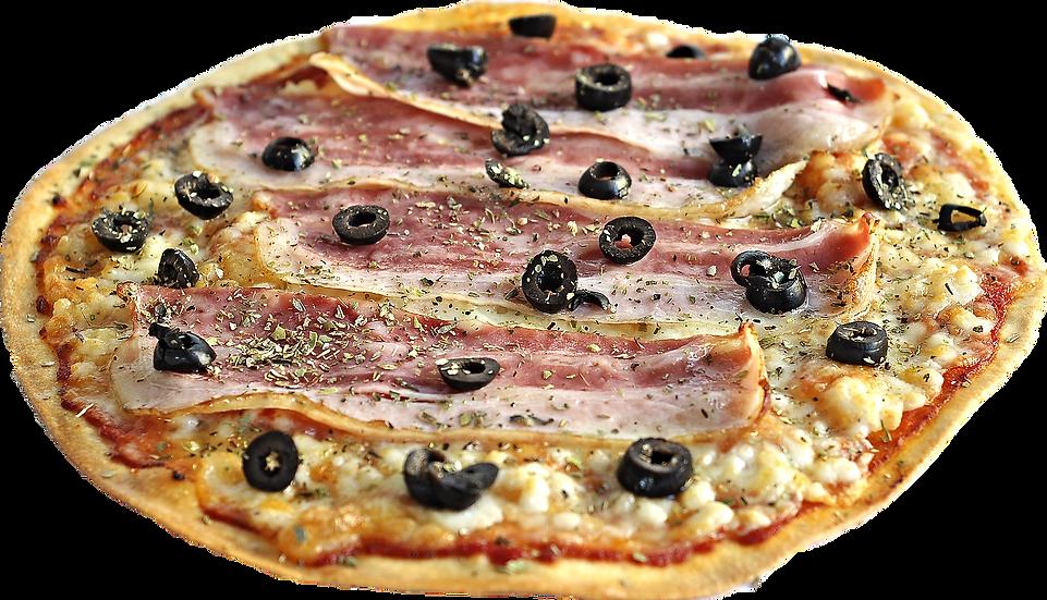 Pizza de Beicon