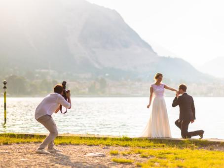 Matrimonio km 0 sull'Isola Pescatori Hotel Verbano - RacconTiAmo Lesa