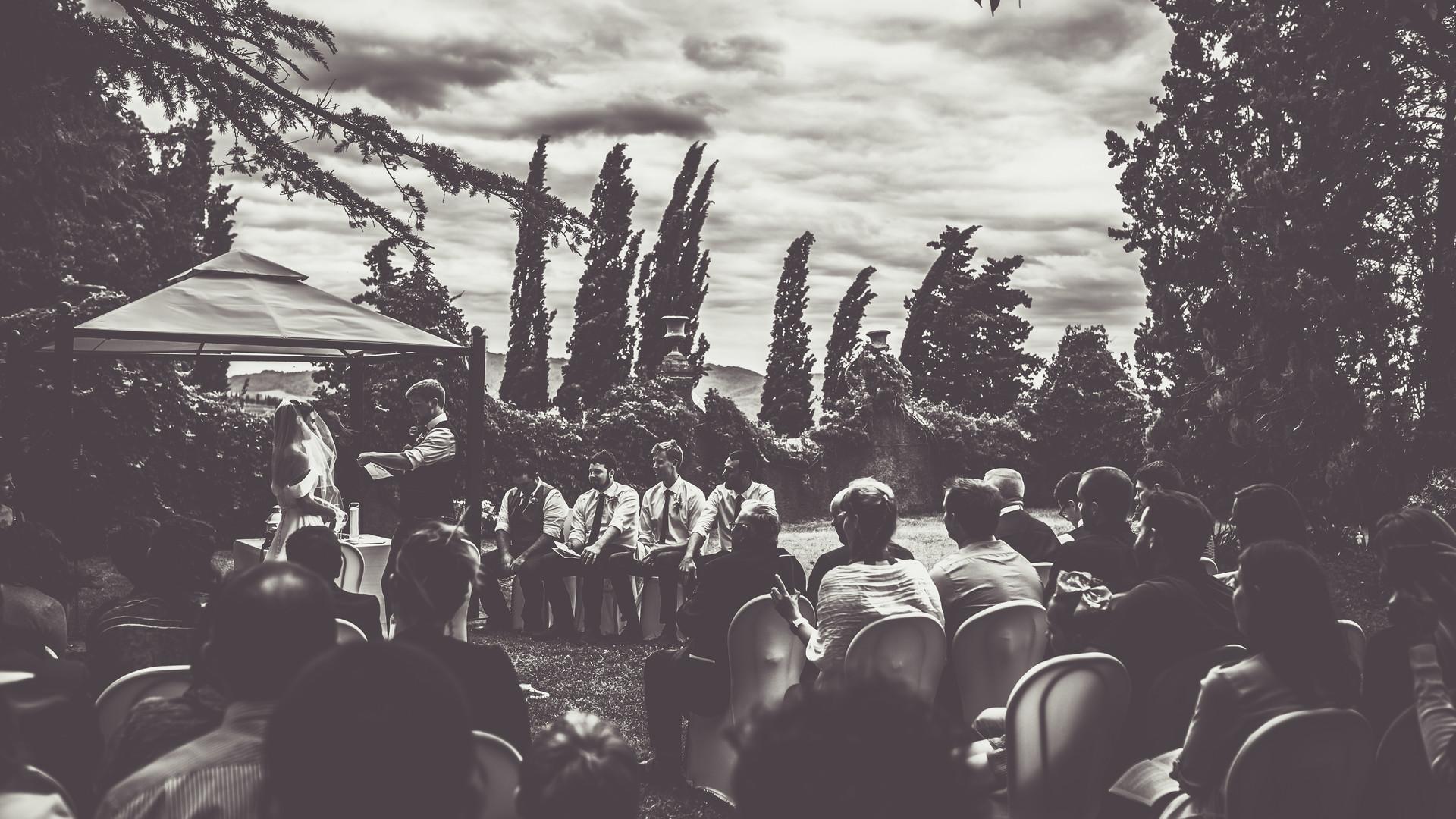 Matrimonio all'aperto Radda in Chianti Borgo Castelvecchi