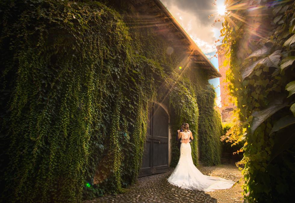Foto di matrimonio Abbazia del santo spirito comignago