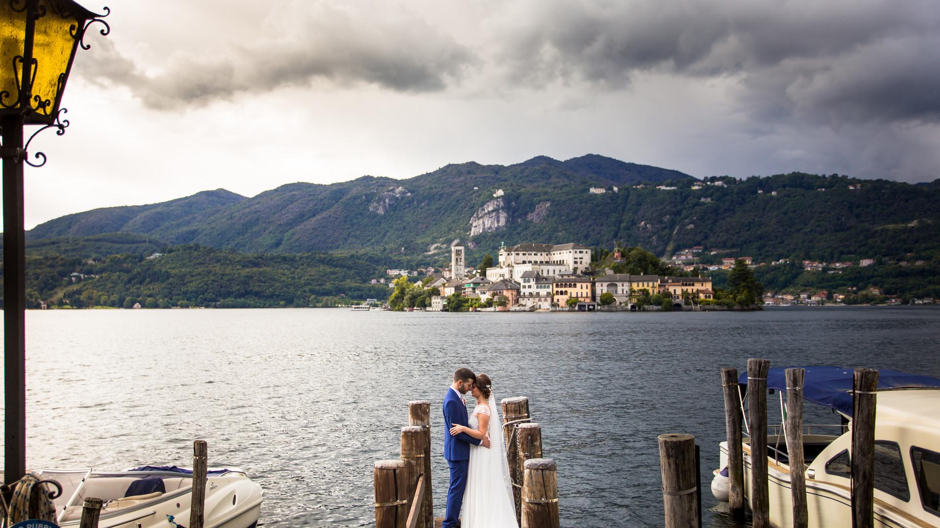 Foto di matrimonio Orta San Giulio