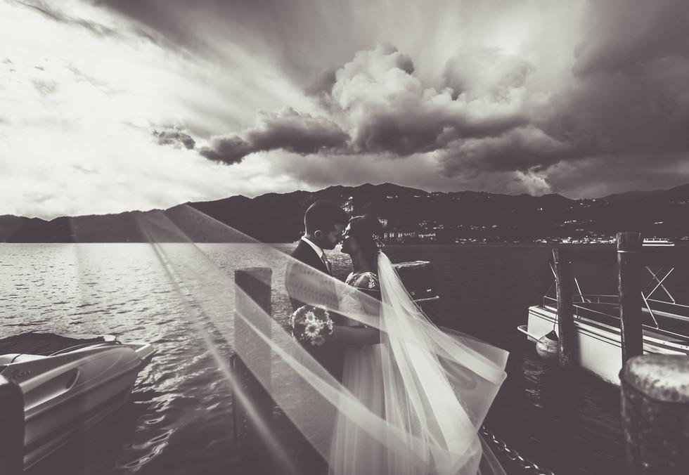 Foto di matrimonio artistiche orta san giulio