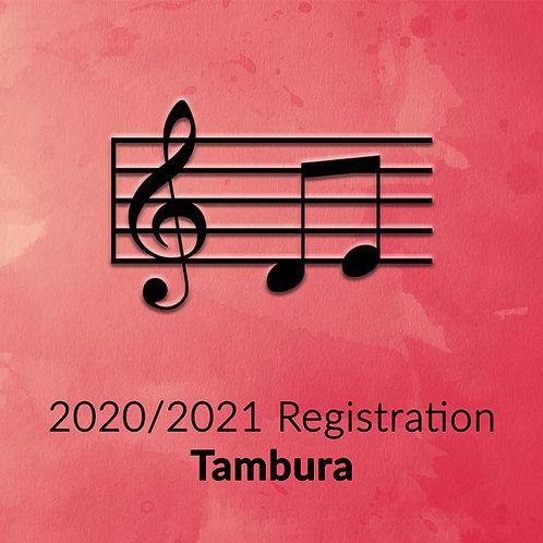 Single Tambura Registration