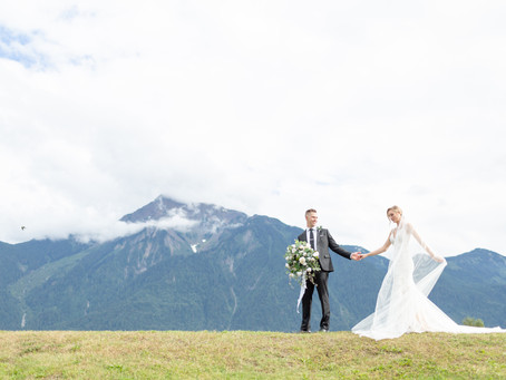 Carson & Taryn - Fraser River Lodge Wedding