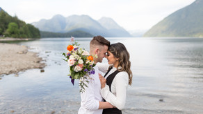 Chance & Monica - Alouette Lake Couples Session