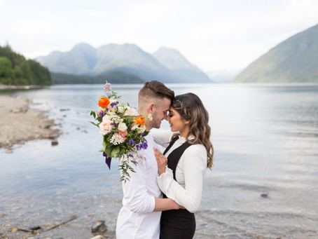 Chance & Monica - Alouette Lake Couples Session