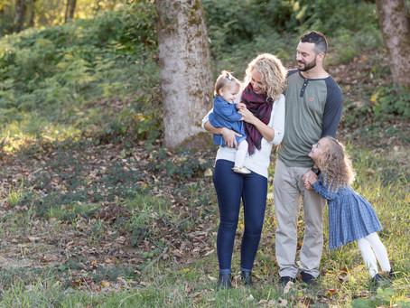 The White Family - Maple Ridge Family Session
