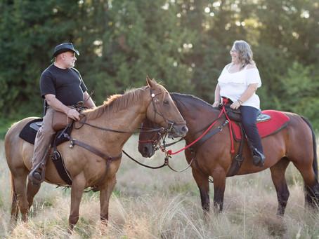 Areal & Karl - Jackson Farm Engagement Session