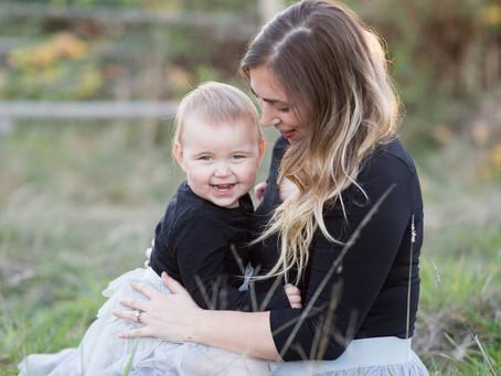 Sasha & Quinn - Maple Ridge Mini Mommy and Me Session