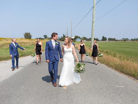 Keegan & Danielle - Westham Island Barn Wedding