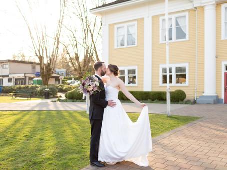 Jamie & Elizabeth - Fort Langley Wedding