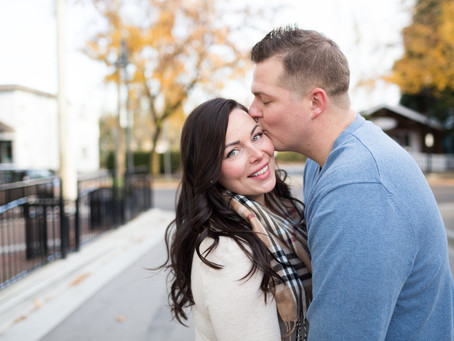 Ed & Melody - Fort Langley Engagement Session