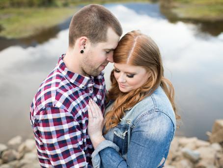 Cory & Andrea - Pitt Lake Engagement Session
