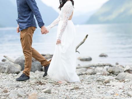 Nolan & Jessica - Alouette Lake Engagement Session