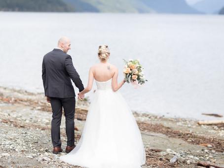 Terry & Kirsti - Alouette Lake Wedding Inspiration