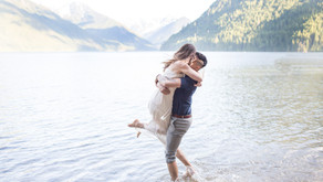 Chilliwack Lake Engagement Session - Jordan & Alysha