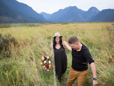 Jason & Danielle - Pitt Lake Engagement Session