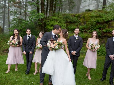 Kory & Moriah - Backyard Chilliwack Wedding