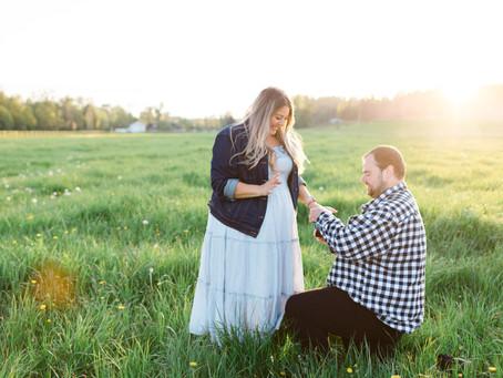 Langley Surprise Proposal - Joel & Krissy