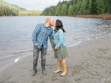 Rolley Lake Maternity Session - Ross & Mia
