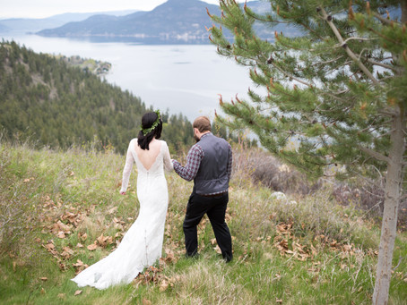 Sam & Sydney - West Kelowna Wedding