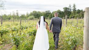 Edward & Melody - Backyard Vineyards Langley Wedding
