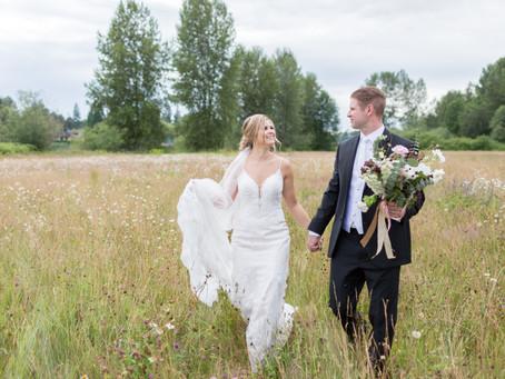 Reid & Emily - Fort Langley Backyard Wedding