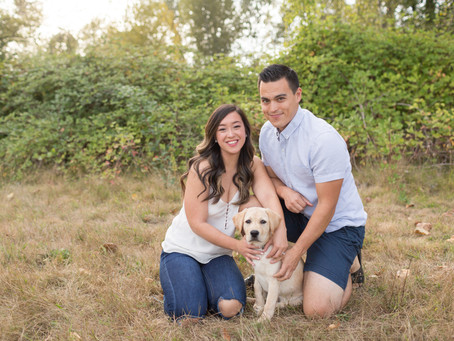 Travis & Sara - Fort Langley Engagement Session