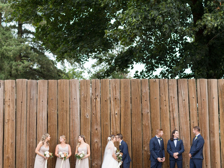 Chris & Jennifer - Fort Langley Backyard Wedding