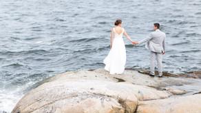 James & Colleen - Seaside Church Wedding