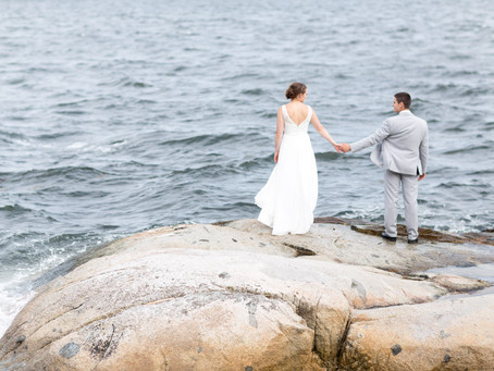 James & Colleen - Seaside Church Wedding