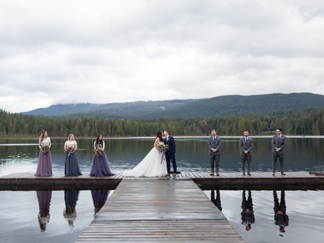 Jason & Danielle - Whonnock Lake Wedding