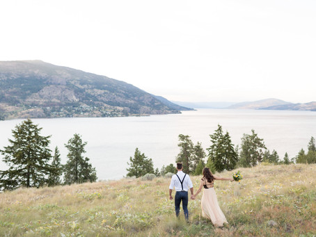 Matthew & Alora - Knox Mountain Kelowna Engagement Session