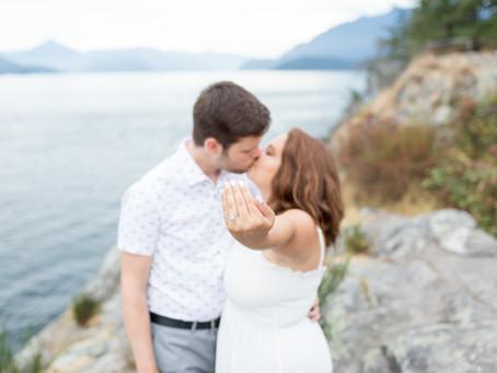 Whytecliff Park Engagement Session - Nic & Shawna