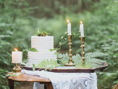 Enchanted Forest Elopement Inspiration - Rolley Lake