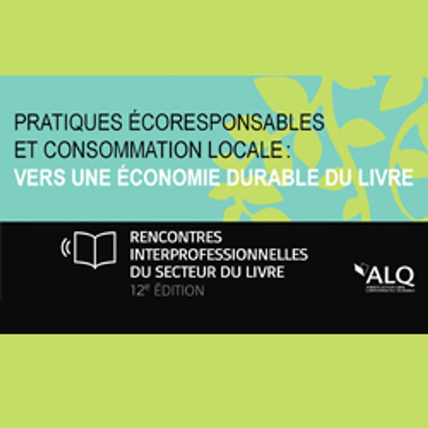 REPORTÉ - 12e rencontre interprofessionnelle du secteur du livre