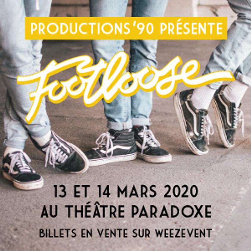 Productions '90 présente Footloose, la comédie musicale