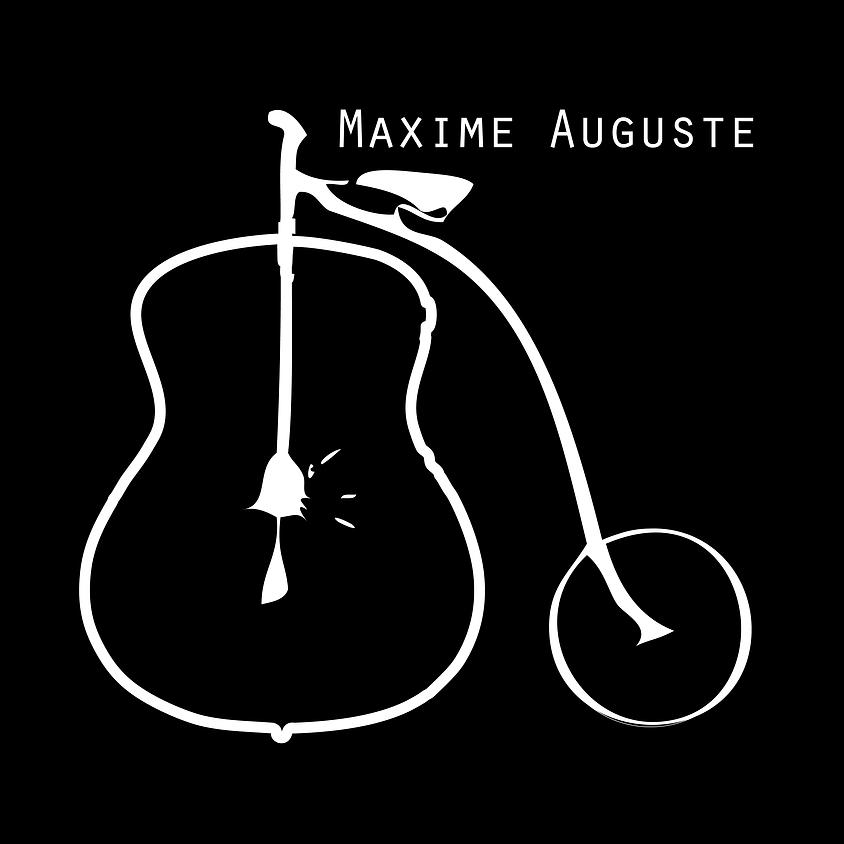 Maxime Auguste en concert gratuit sur la Terrasse St-Georges